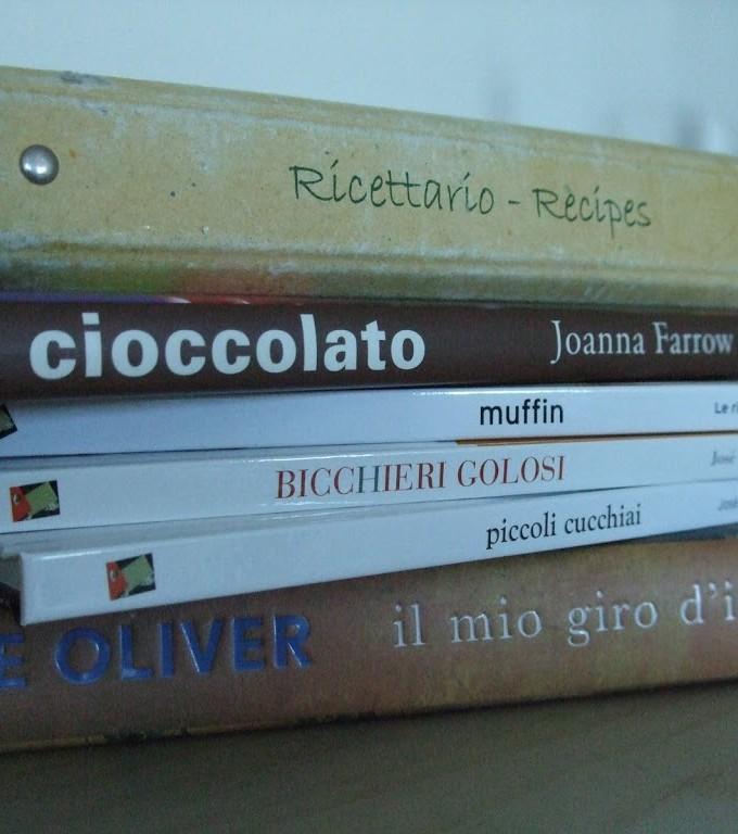 E libri siano!  (di cucina, ovviamente…..)