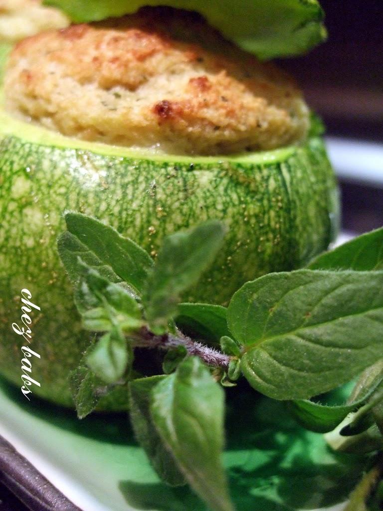 Le tonde ripiene for Cucinare zucchine tonde