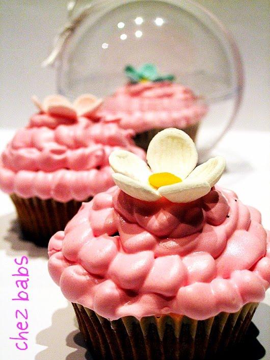 Muffin in rosa per Pasquetta!