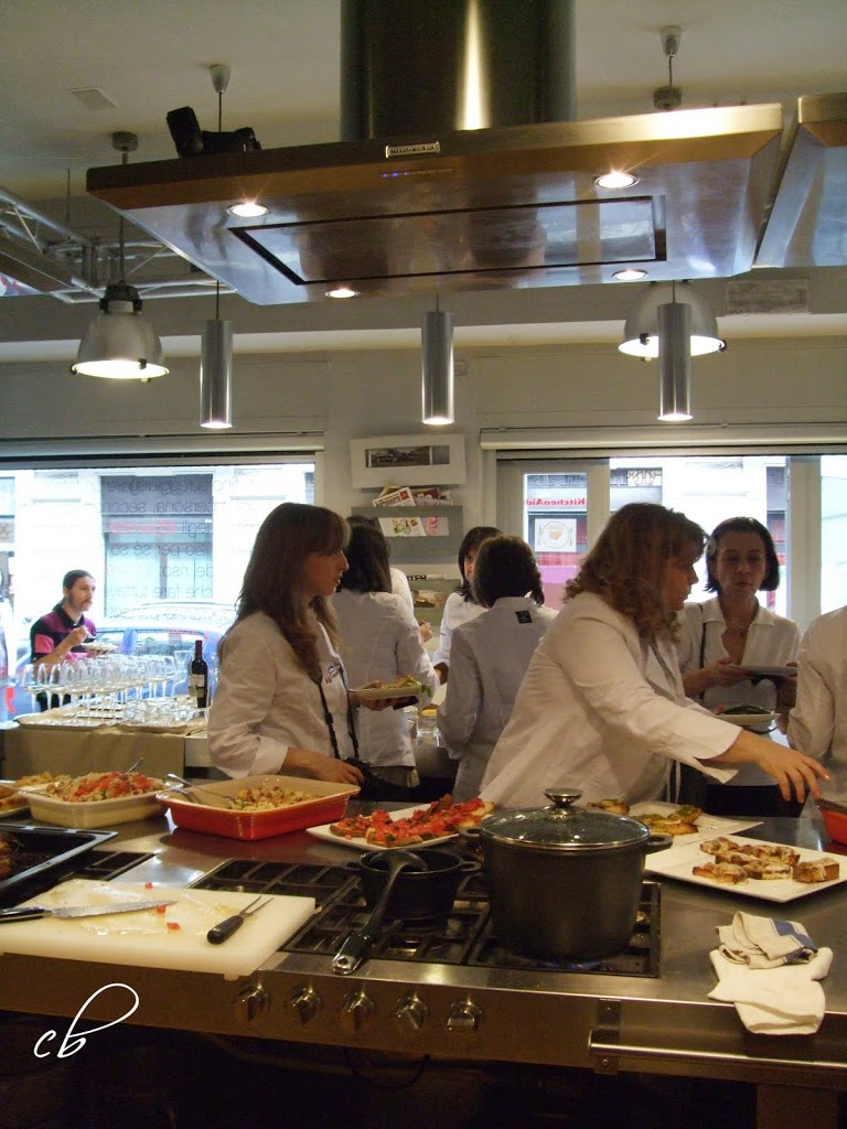 Kraft blogger cooking session milano 14 5 2010 parte 1 for Marco pirotta chef