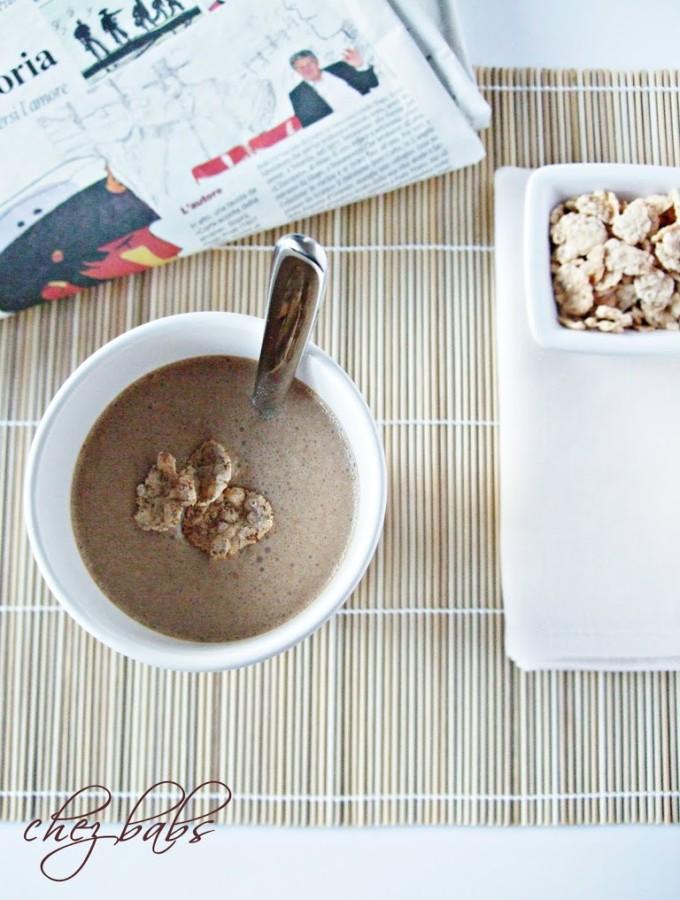 La colazione del campione (mio figlio) – Frullatone banana-caffè!