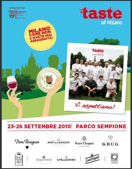 Taste of Milano è qui!