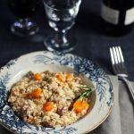 …di zucca e salsiccia, il risotto