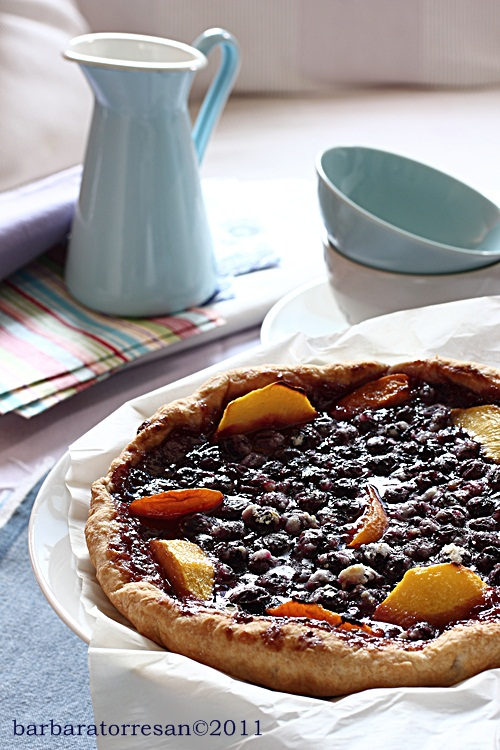 blueberry tarte –