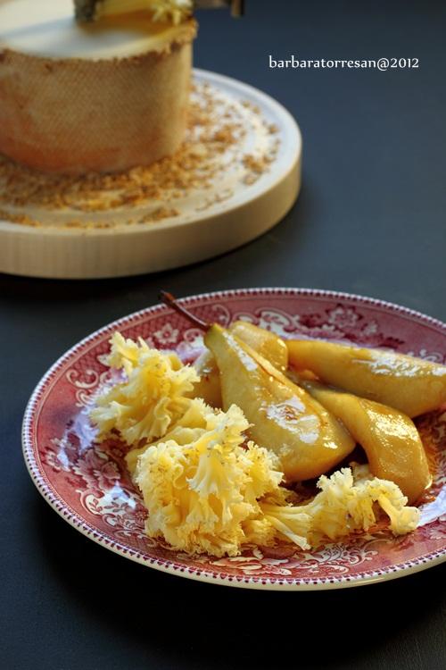 Pere (caramellate) e formaggio… Svizzero!