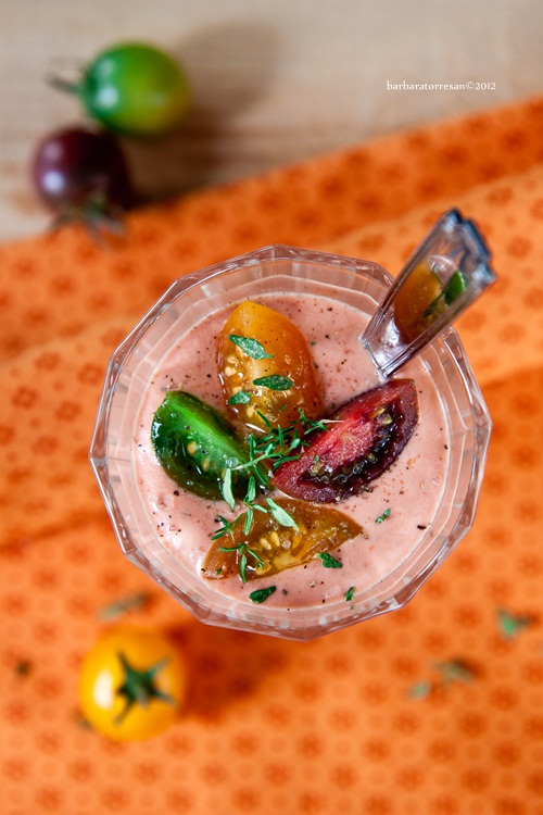 …pomodoro nel bicchiere… smoothieeeeeeeeee!
