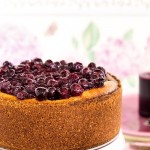 …cheese cake – mirtilli e cassis…