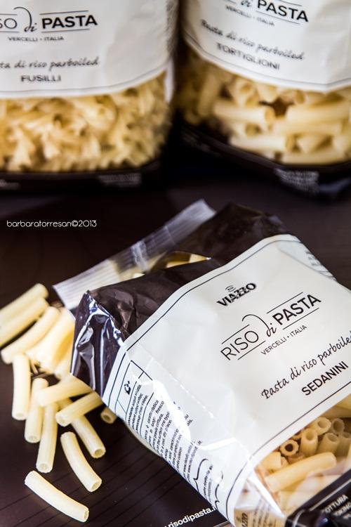 pasta [di riso] e pesto alla rucola – glutenfree!