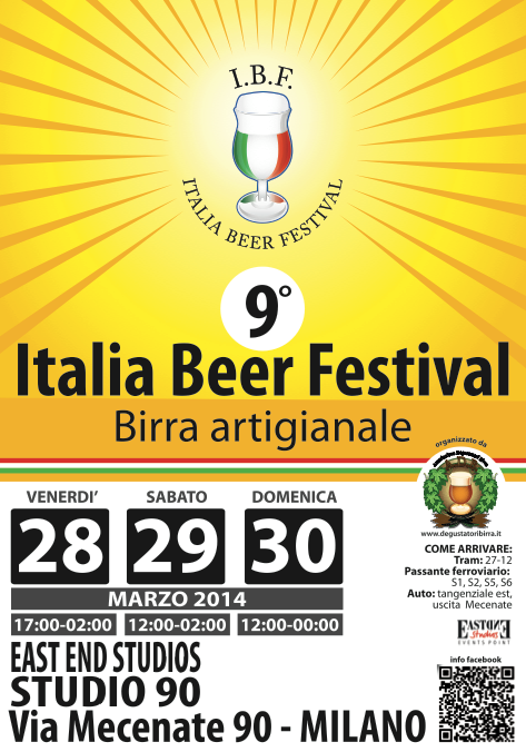 italia beer festival – milano  28/29/30 marzo