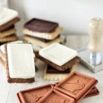 petit beurre au cacao [et chocolate blanc]