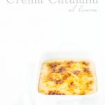 Crema catalana al limone