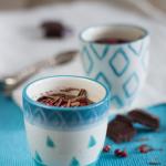 …di budini al cioccolato e pepe rosa