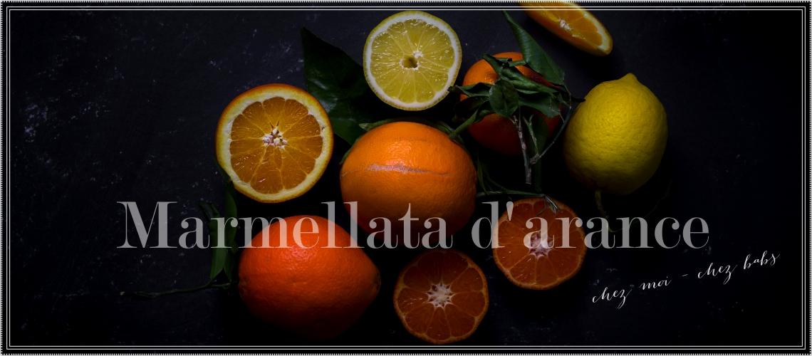marmellata d'arance slide