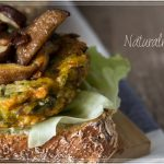 veg sandwich con shiitake