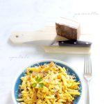 Spatzle alla pancetta croccante