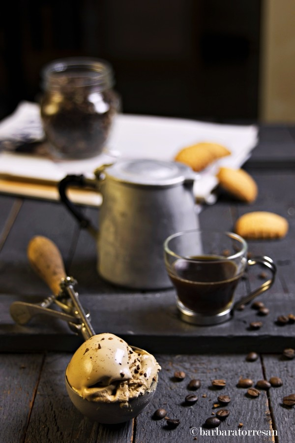 Gelato al caffè (veg)