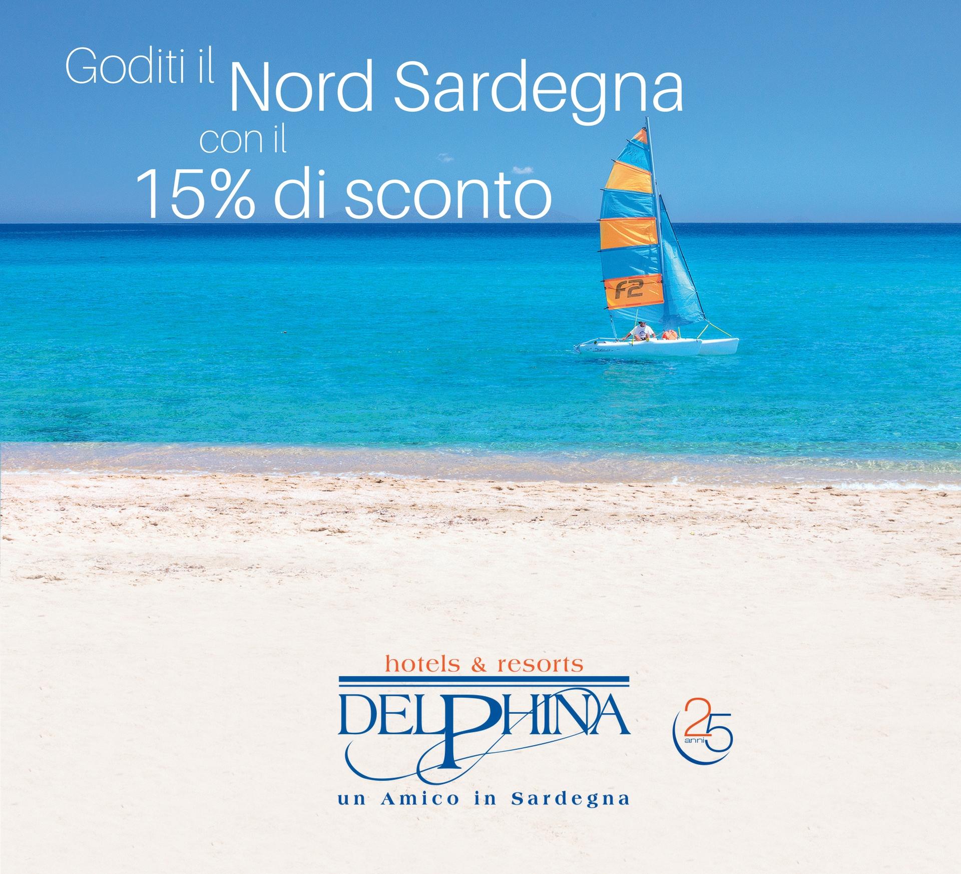 Fino al 31 gennaio: prenota la Sardegna con Delphina!