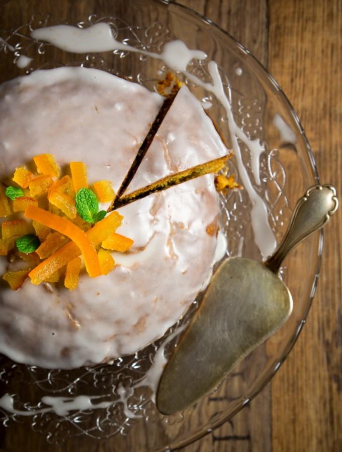 Glutenfree cake (con scorzette d'arancia candite)