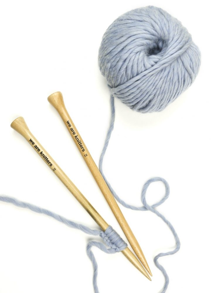 we are knitters - knitting party