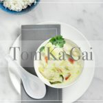 Tom Ka Gai – coconut soup  Babs version