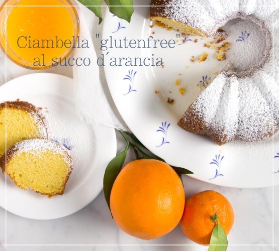 Ciambella senza glutine all'arancia