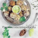 Polpette di lenticchie (speziate) da: #tondocomeunapolpetta