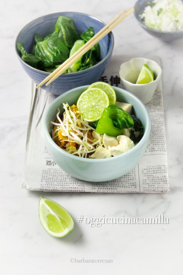 curry con verdure e pollo