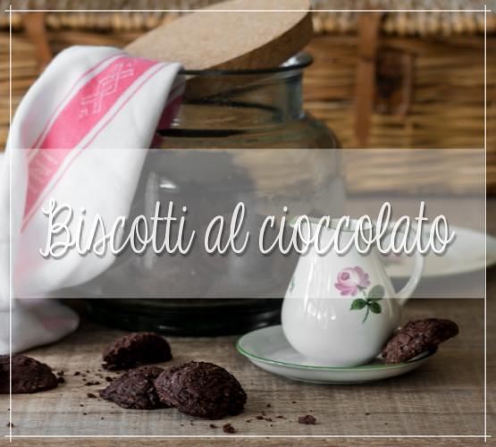 Biscotti – sablè – al cioccolato e fave di cacao