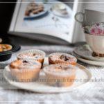 Muffin ai mirtilli con farina di mandorle e farro