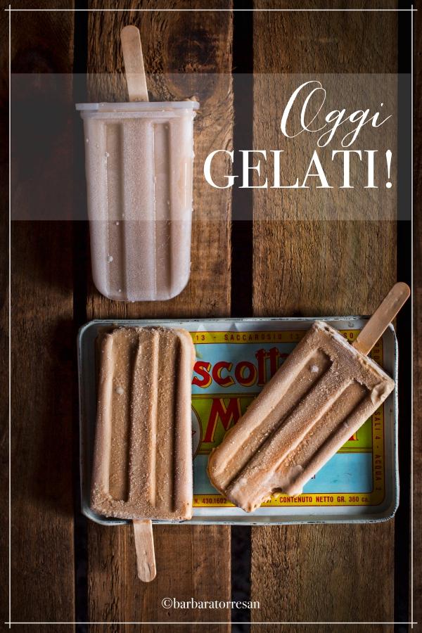 gelato al gusto biscotto