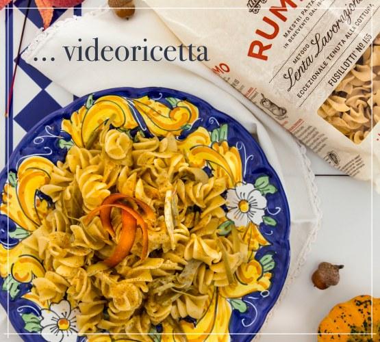 Videoricette Pasta Rummo – Fusillotti ai carciofi