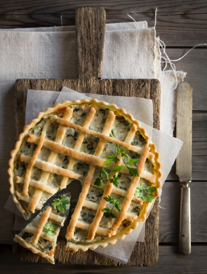 Torta salata alternativa: del come recuperar verdura