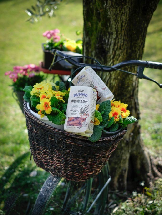La videoricetta di aprile: Pasta Rummo alle lenticchie rosse – nuovo prodotto