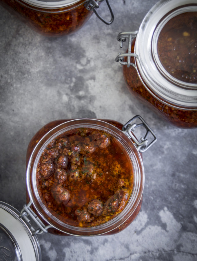 Crema di pomodori secchi (passepartout)